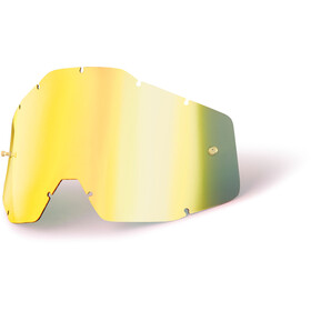 100% Replacement Lenses Youth gold / mirror